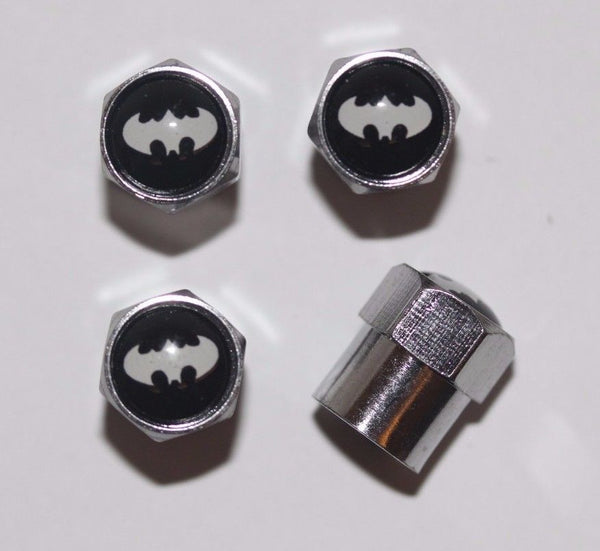 Batman Tire Valve Stem Caps