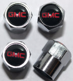 GMC Black Valve Stem Caps - MyValveCaps