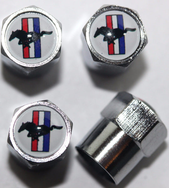 Mustang Tire Valve Stem Caps