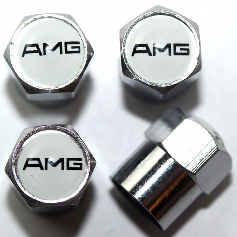 AMG Tire Valve Stem Caps