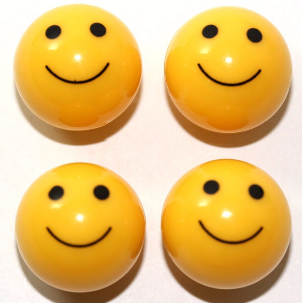 Happy Face Tire Valve Stem Caps