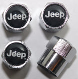Jeep Black Tire Valve Caps - MyValveCaps
