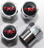 TRD Black Tire Valve Caps - MyValveCaps