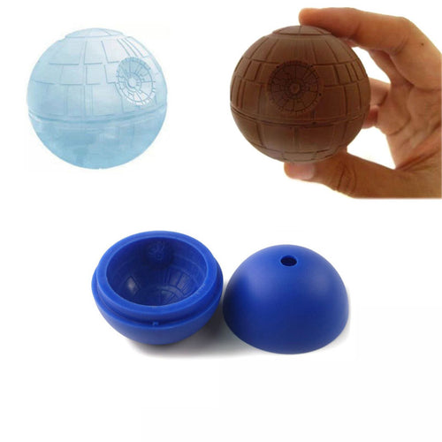 Death Star Silicone Ice Tray / Chocolate Mold