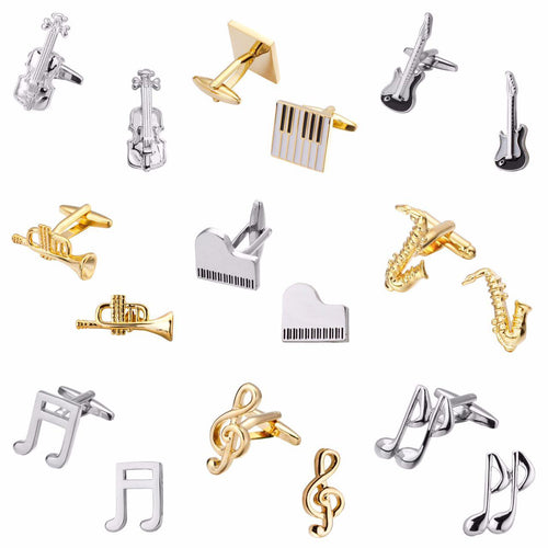 Music Instruments Cufflinks