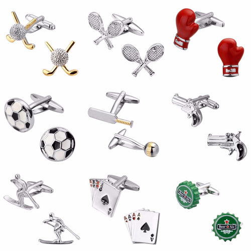 Sports and Hobbies Cufflinks