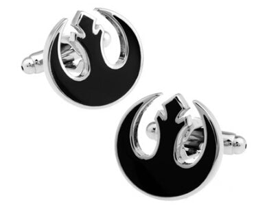 Black Rebel Alliance Symbol Cufflinks