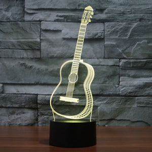 Guitar LED Lamp