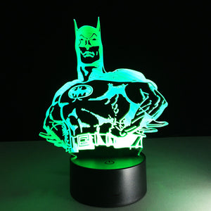 Batman Bruce Wayne LED Lamp