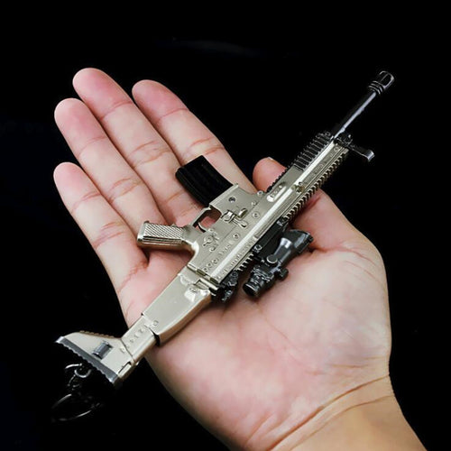 Keychain PUBG Scar-L Weapon Big Prop