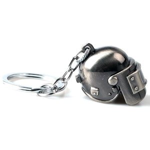 Playerunknowns Battlegrounds Level 3 Helmet 3D Keychain