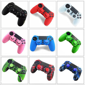 Soft Silicone Rubber Case Cover For Dualshock 4 PS4