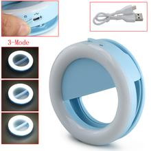 Rechargeable Selfie Ring LED Light