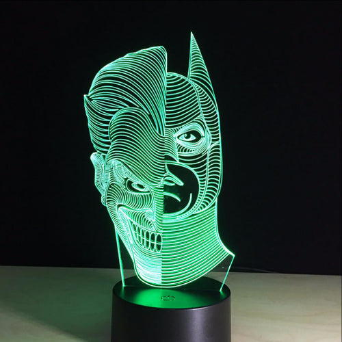 Batman vs Joker LED Lamp