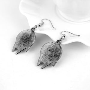 Millennium Falcon Spaceship Mini Model Drop Earrings