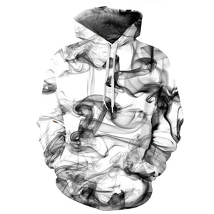 3D Print Hoodie with a Smoky Design