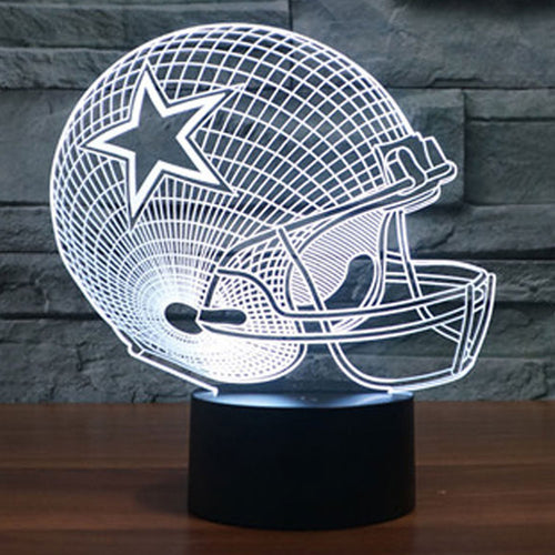 Dallas Cowboys LED Lamp