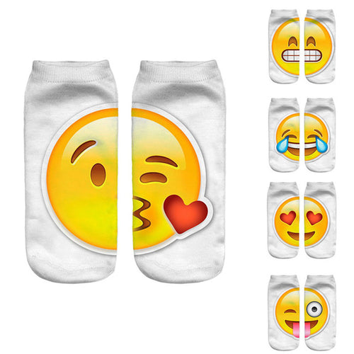 Bestselling! New Emoji Ankle Socks for Kids and Women