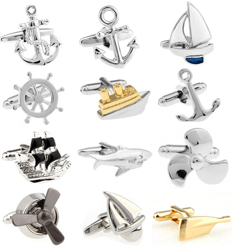 Sea and Marine Sport Cufflinks