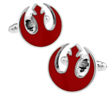 Red Rebel Alliance Symbol Cufflinks