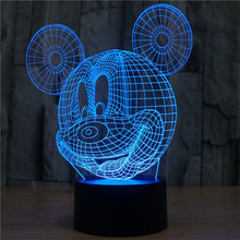 Mickey Mouse LED Lamp