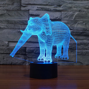 Elephant LED Lamp