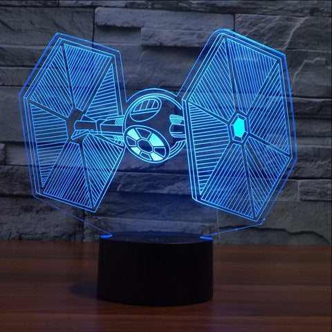 TIE-Fighter LED Lamp
