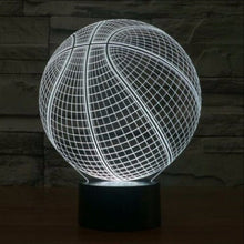 Basketball Ball LED Lamp
