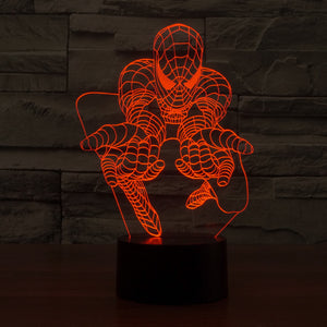 Spiderman LED Lamp