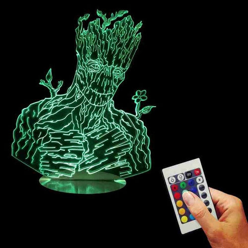 Groot LED Lamp + Remote Control