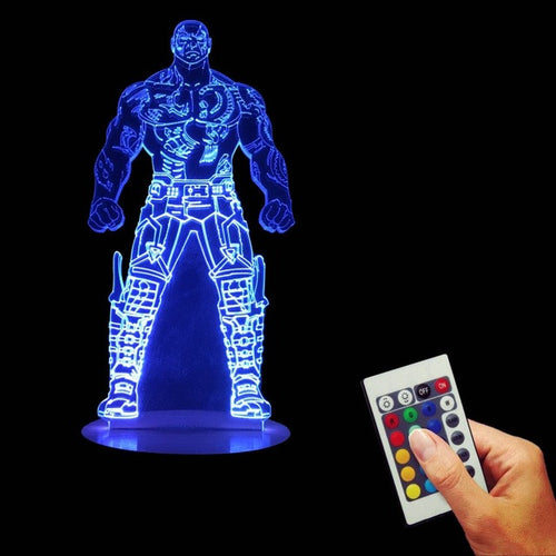 Drax LED Lamp + Remote Control