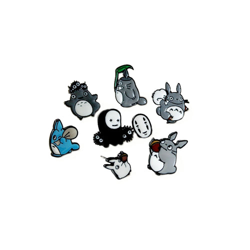 Cute Totoro Earrings with a Free Gift Box + Free Shipping!