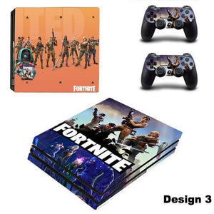 Fortnite Battle Royale PS4 PRO Skin Stickers Set