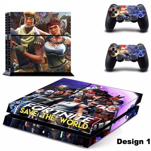 Fortnite Battle Royale PS4 Skin Stickers Set