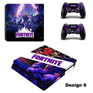 Fortnite Battle Royale PS4 SLIM Skin Stickers Set
