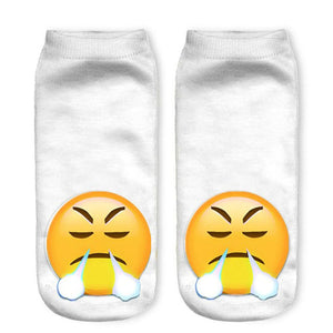 Hot Emoji Socks for Your Mood