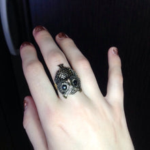 Personality Vintage Owl Ring (Hooh)