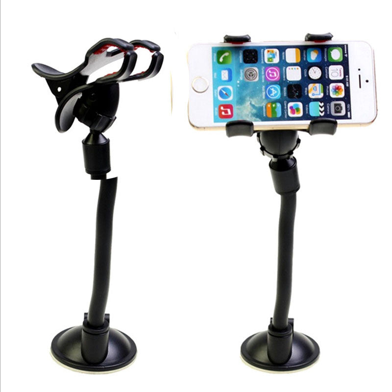 Universal Windshield Mobile Phone Mount Holder (iPhone 6/S,5/S,7,Samsung,Huawei, DVR,GPS)