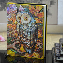 Vintage Euro Owl Notebook/Diary Leather & Handmade (Collector's Item)