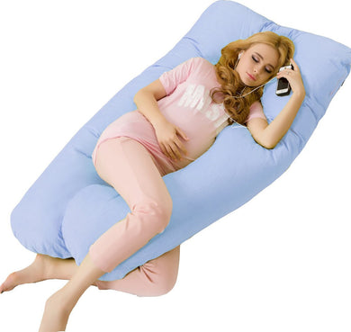 Pregnancy U-Type Full Body Pillow (4 Colors) (Polyester/Cotton)