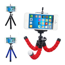 Mini Flexible Octo-Tripod Camera/Mobile Phone Stand & Mount (w/Bluetooth Remote Shutter) For Mobile Phones, iPhone 6/7 & Go-Pro Hero 3/4 - FREE SHIPPING!