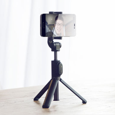 Xiaomi Handheld Mini Tripod 3 in 1 Self-Portrait Monopod (w/Bluetooth Wireless Remote Shutter) - Cable Included. FREE SHIPPING!