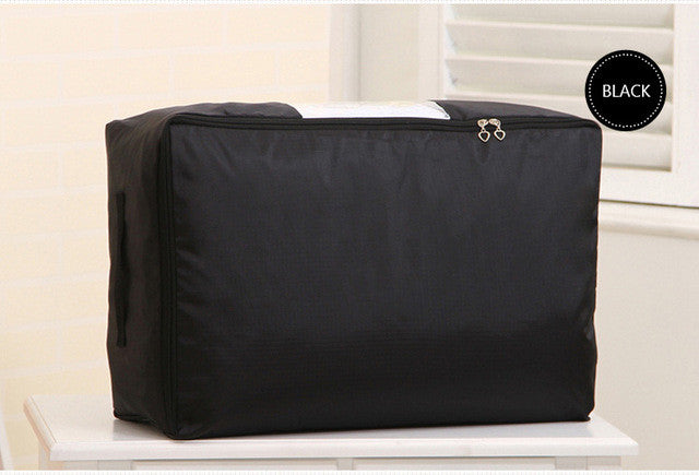 VEAMOR Oxford Quilt Storage Bags (S-XXL) Home Storage Organizer ... : quilt storage bags - Adamdwight.com