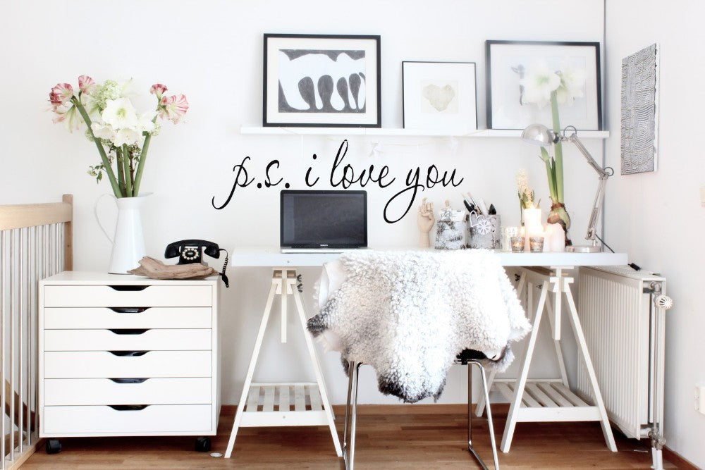 I Love You Wall Art/Decal