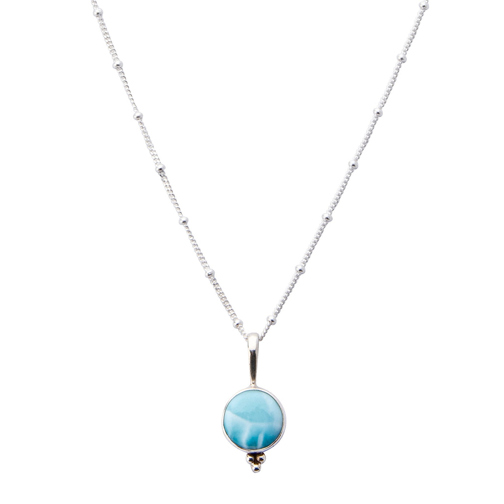 Awaken Larimar Necklace