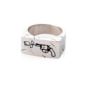 Men's Peace Ring