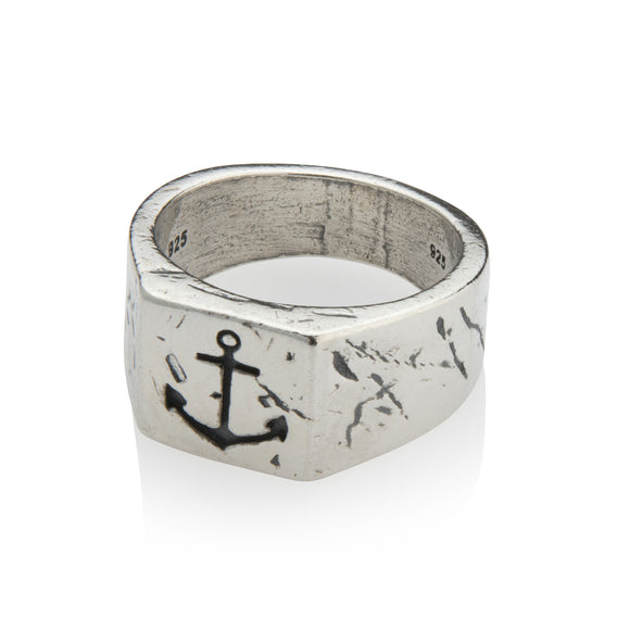 Men's Ring - Anchor