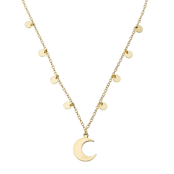 Starry Night Necklace STERLING SILVER & 18K GOLD