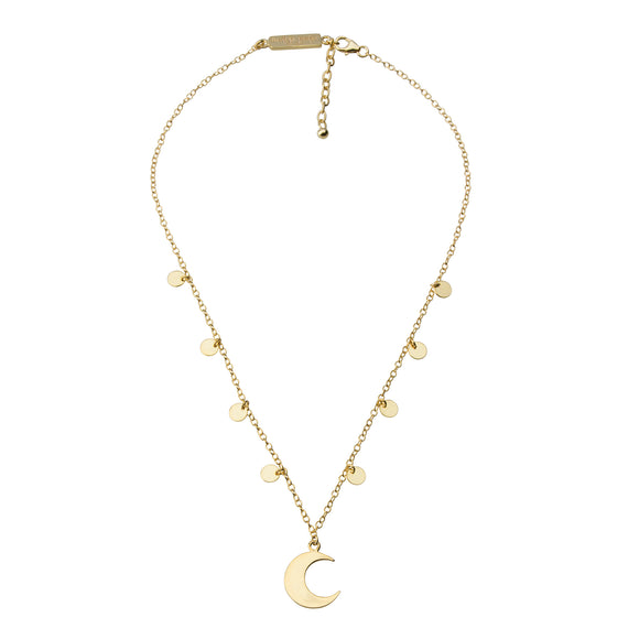 Starry Night Necklace STIRLING SILVER & 18K GOLD