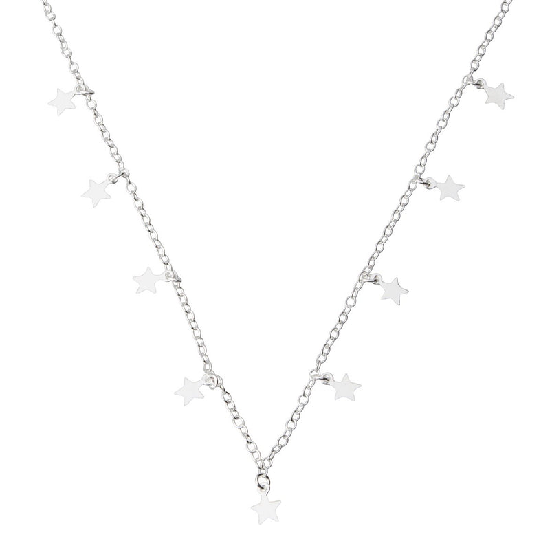 Show Me Your Stars Necklace STERLING SILVER & 18K GOLD